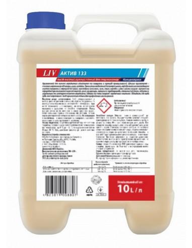 Засіб мийний лужний пінний для термокамер LIV Актив 133 10л