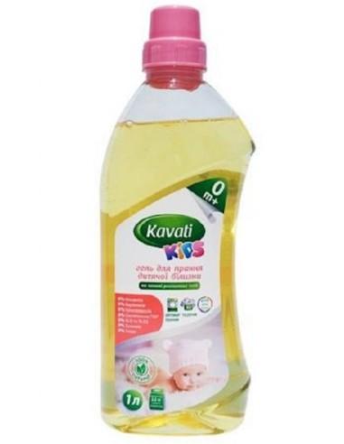 Натуральний гель для прання дитячої білизни Kavati KIDS 1 л