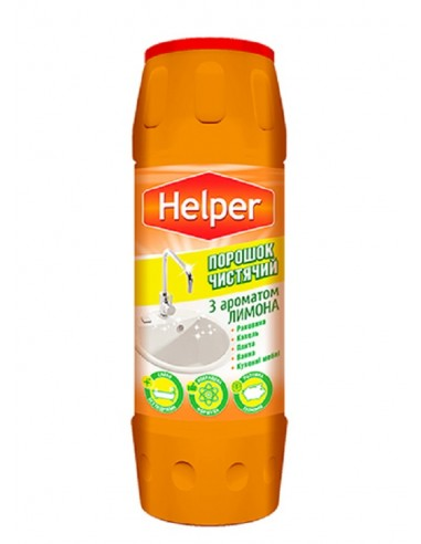 Чистящий порошок з ароматом лимона Helper 500г