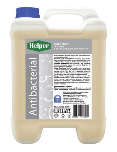 Рідке мило Преміум з антибактеріальним ефектом Helper 5л