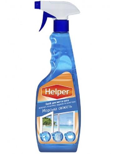 Засіб для миття скла Морська свіжість Helper