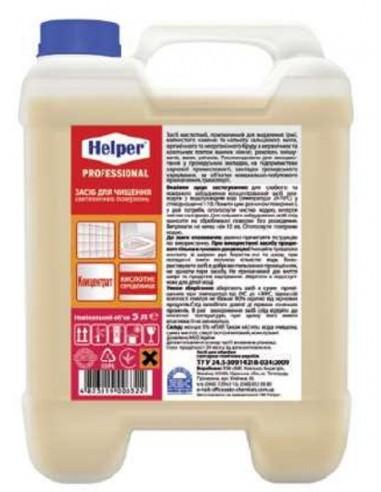 Засіб для чищення сантехнічних поверхонь Helper Professional 5л
